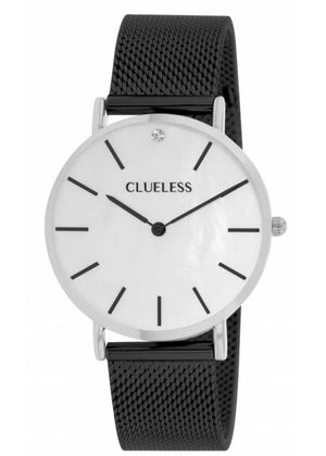 Clueless Montre Femme - Collection Classic - Mesh Noir | BCL10184 313