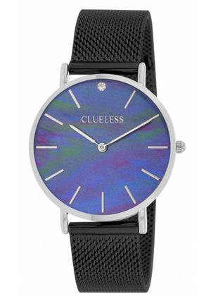Clueless Montre Femme - Collection Classic - Mesh Noir | BCL10184 317