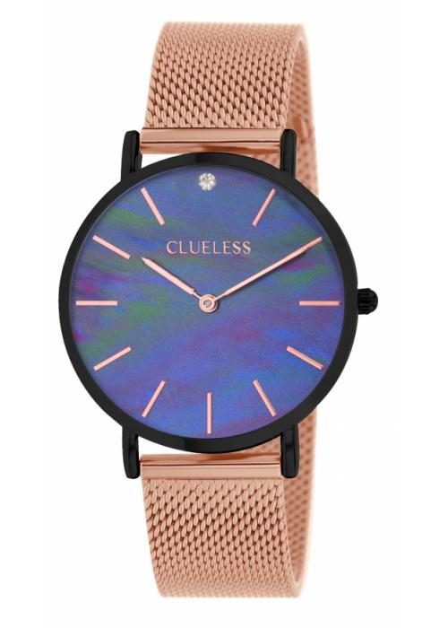 Clueless Montre Femme - Collection Classic - Mesh Or Rose | BCL10184 900