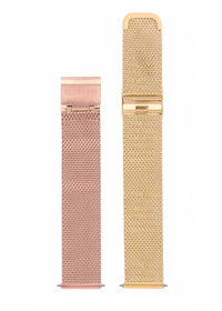 CHARMING - MESH OR ET ROSE /  DORE | BCL10224-002