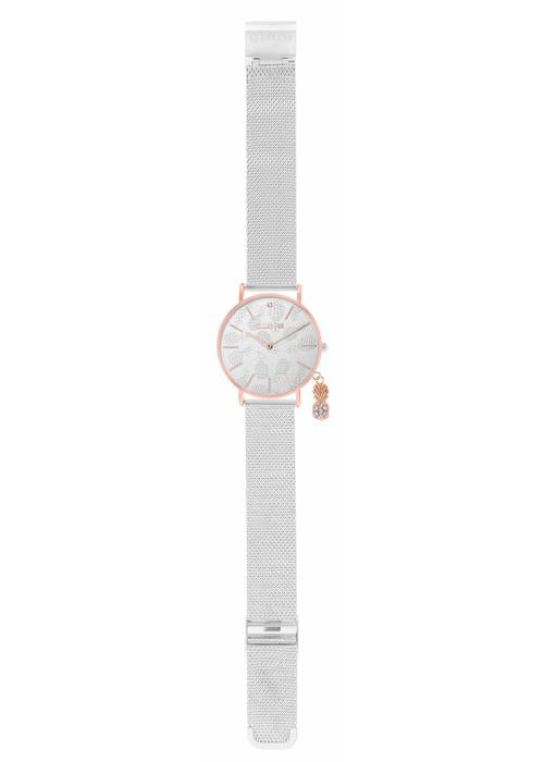 CHARMING - MESH ARGENT /  ROSE | BCL10224-003