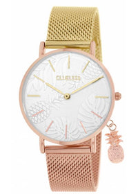 Clueless Montre Femme - Collection - Charming Mesh Or Et Rose | BCL10224 005