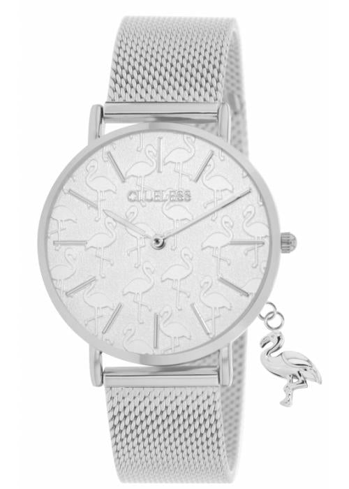 Clueless Montre Femme - Collection - Charming Mesh Argent | BCL10224 007