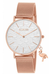 Clueless Montre Femme - Collection - Charming Mesh Or Rose | BCL10224 008