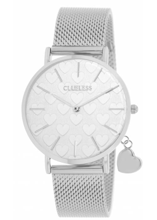 Clueless Montre Femme - Collection - Charming Mesh Argent | BCL10224 012