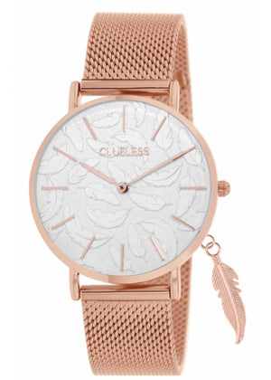 Clueless Montre Femme - Collection - Charming Mesh Or Rose | BCL10224 015