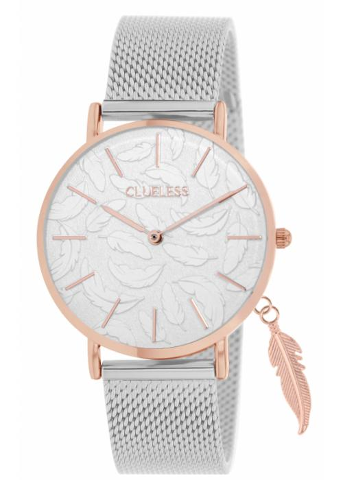 Clueless Montre Femme - Collection - Charming Mesh Argent | BCL10224 016