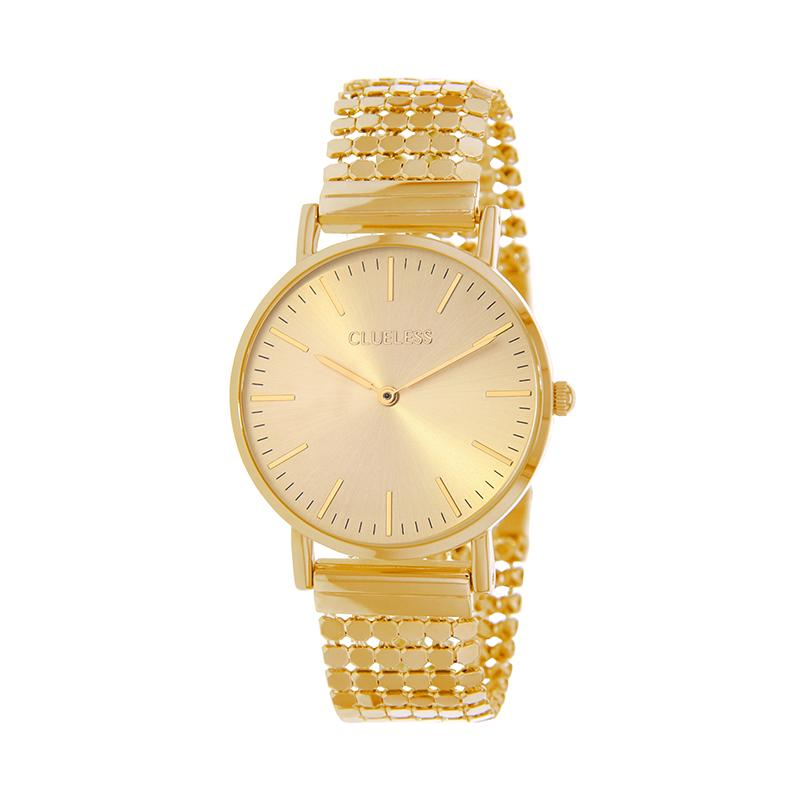 Clueless Montre Femme - Collection Intense - Acier Dor - Cadran Dor | BCL10134-102