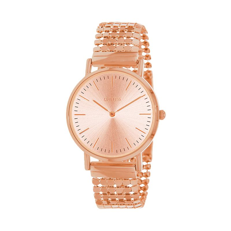 Clueless Montre Femme - Collection Intense - Acier Rose - Cadran Rose | BCL10134-812