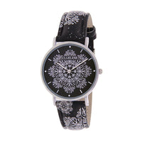 Clueless Montre Femme - Collection Happy - Cuir Multicolore - Boitier Argent | BCL10031-044