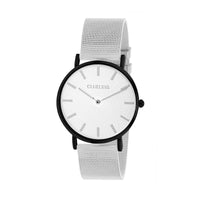 Clueless Montre Femme - Collection Classic - Mesh Argent - Cadran Argent | BCL10004-302