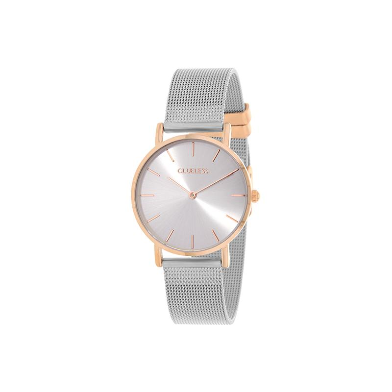 Clueless Montre Femme - Collection Mini - Mesh - Cadran | BCL10104-312
