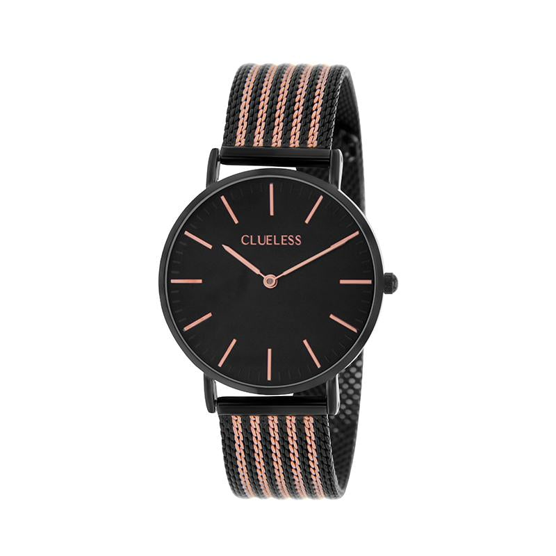 CLUELESS Montre Femme - Collection Grace - Mesh Bicolor | BCL10154-903