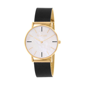 CLUELESS Montre Femme - Collection Grace - Mesh Bicolor | BCL10174-103