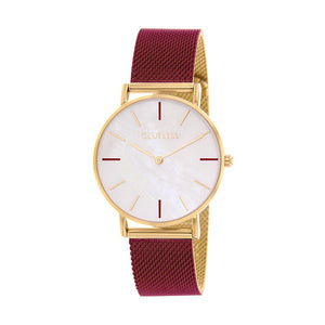 CLUELESS Montre Femme - Collection Grace - Mesh Bicolor | BCL10174-119