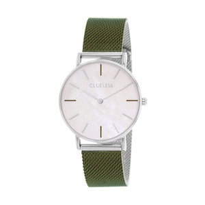 CLUELESS Montre Femme - Collection Grace - Mesh Bicolor | BCL10174-220