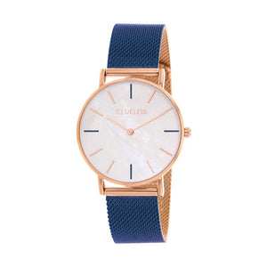 CLUELESS Montre Femme - Collection Grace - Mesh Bicolor | BCL10174-808