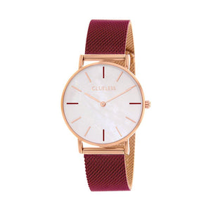 CLUELESS Montre Femme - Collection Grace - Mesh Bicolor | BCL10174-819