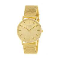 Clueless Montre Femme - Collection Classic - Mesh Or - Cadran Dore | BCL10004-102