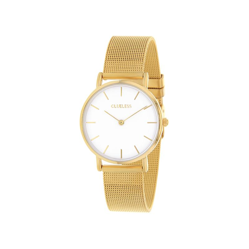 Clueless Montre Femme - Collection Mini - Mesh - Cadran | BCL10104-101