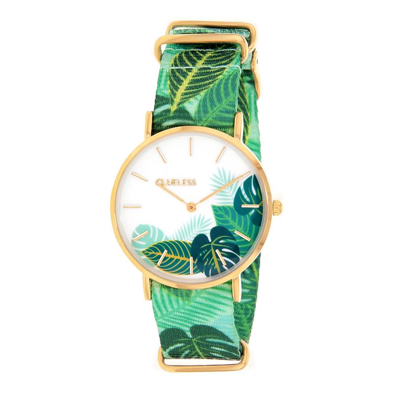 Clueless Montre Femme - Collection Society - Tissu - Cadran | BCL10118-006