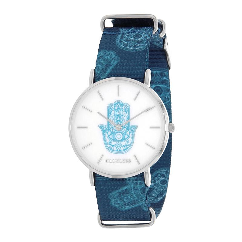 Clueless Montre Femme - Collection Society - Tissu - Cadran | BCL10118-008