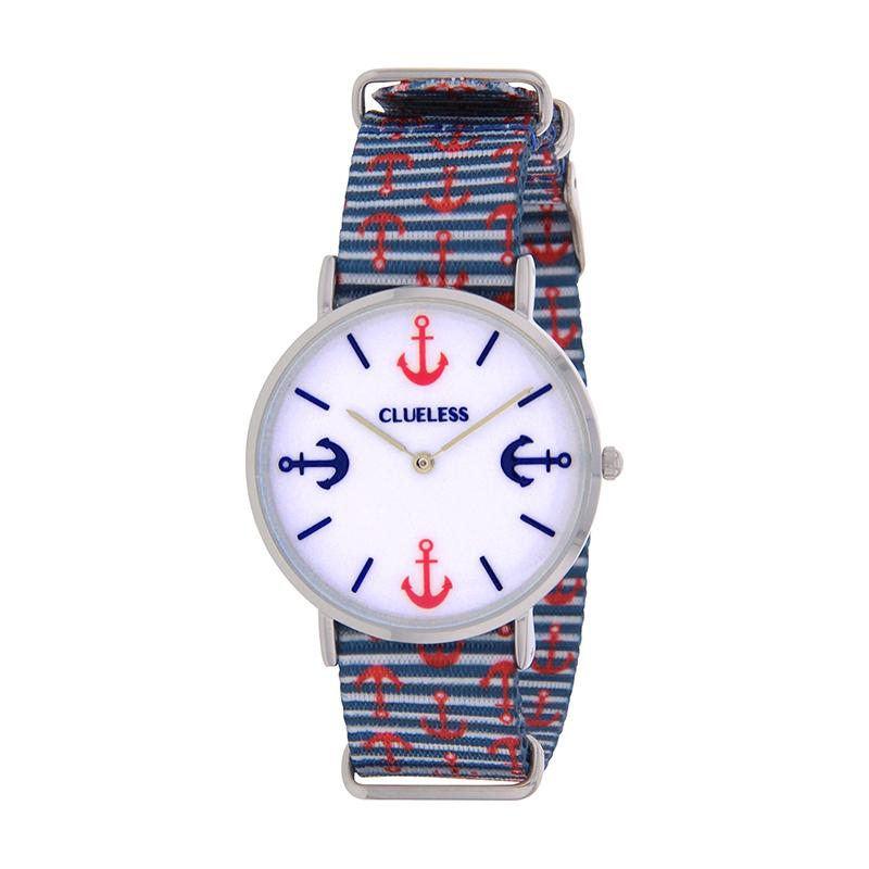 Clueless Montre Femme - Collection Society - Tissu - Cadran | BCL10118-011