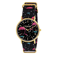 Clueless Montre Femme - Collection Society - Tissu - Cadran | BCL10118-001