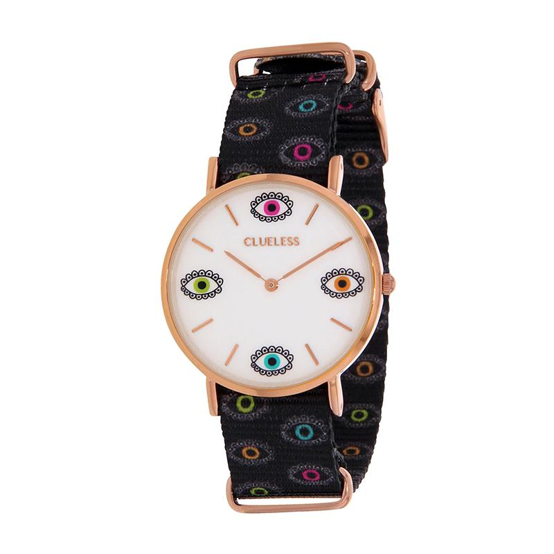 Clueless Montre Femme - Collection Society - Tissu - Cadran | BCL10118-014