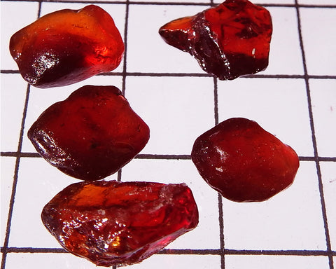 Spessartite Garnet - Total weight 29.93 cts Ref. MP/2