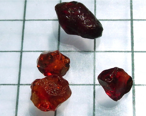Spessartite Garnet – Nigeria. Total weight 24.12 cts - Ref. MP/10