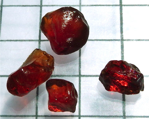 Spessartite Garnet – Nigeria. Total weight 24.36 cts - Ref. MP/11