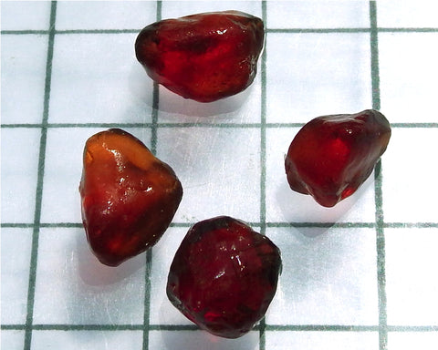 Spessartite Garnet – Nigeria. Total weight 24.36 cts - Ref. MP/9