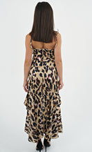 Load image into Gallery viewer, Leopard Print High Low Dress