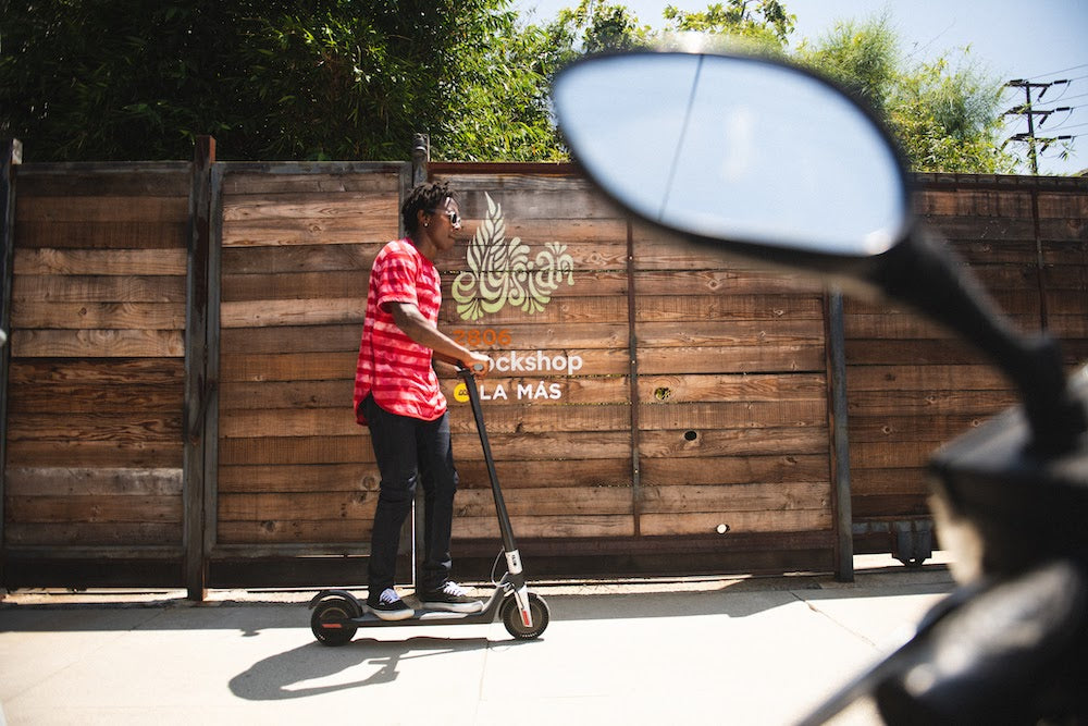 Can You Ride an Electric Scooter on the Sidewalk?