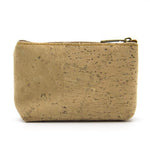 Eco Ninjas Vegan friendly cork change purse silver