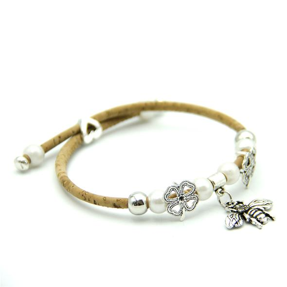 Eco Ninjas native bee cause ladies bracelet