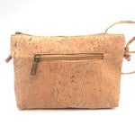 Eco Ninjas vegan leather cork cross body ladies bag