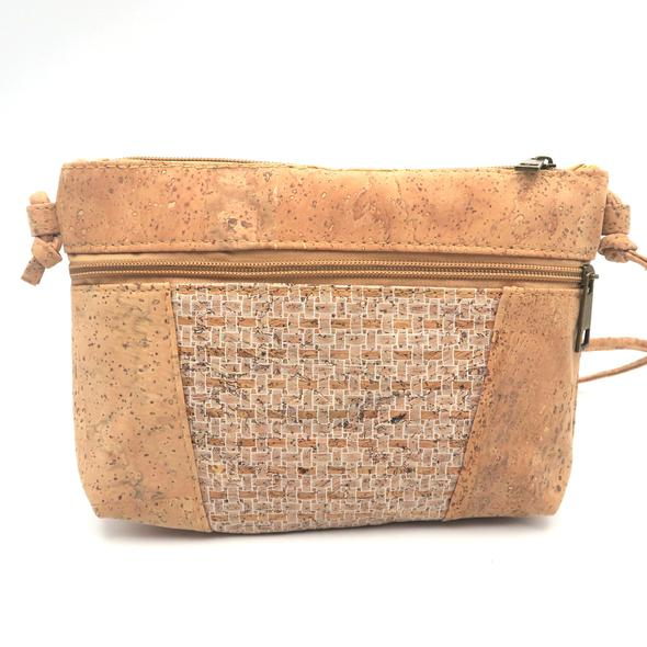 Eco Ninjas vegan leather cork cross body ladies hand bag