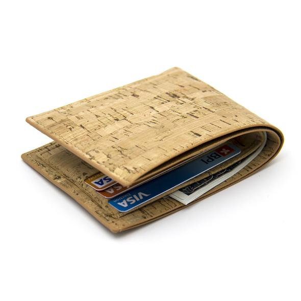 Eco Ninjas Vegan leather cork Mens wallet