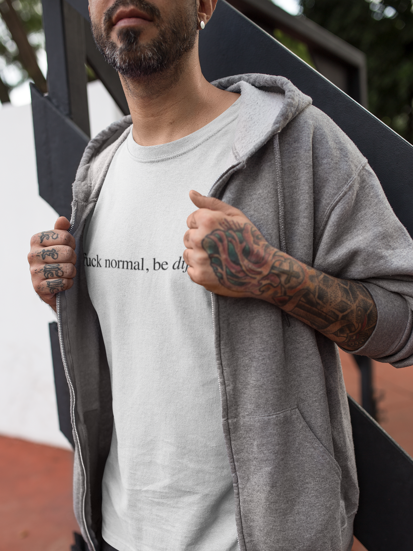 Fuck Normal, Be Different T-Shirt