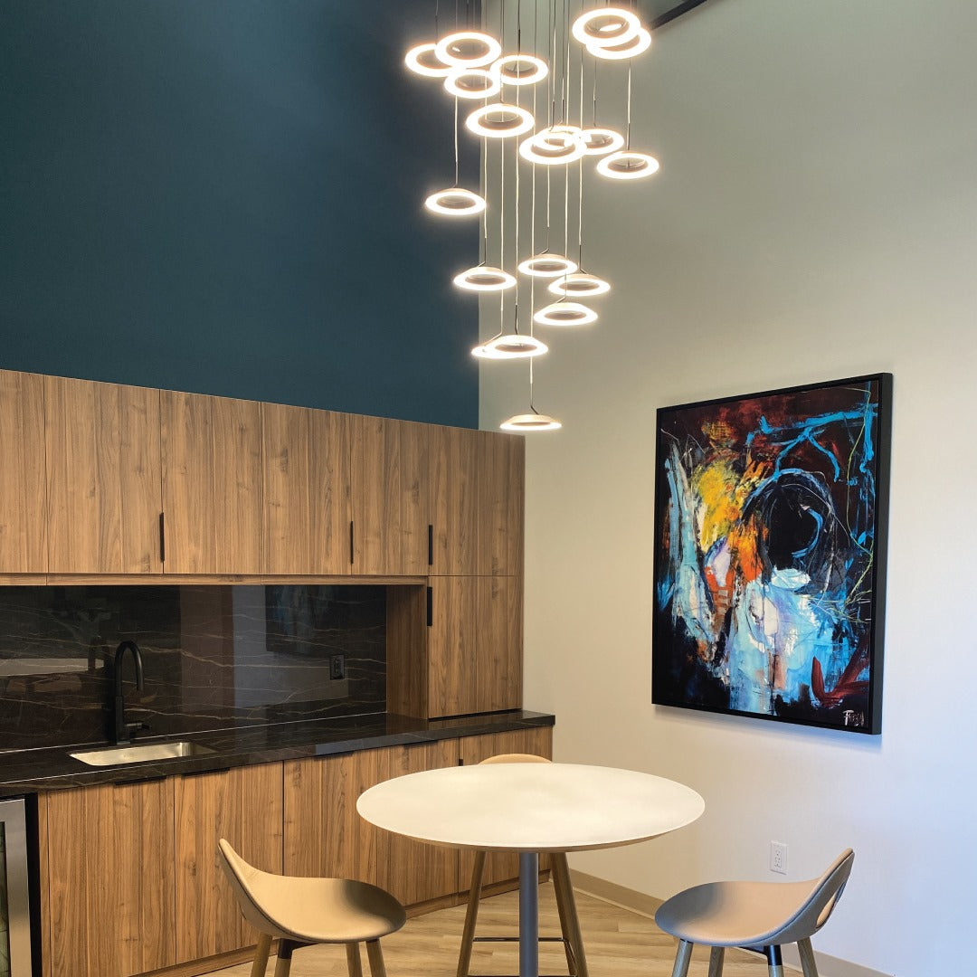 Royyo Pendant at Rodenbeck Reps' showroom