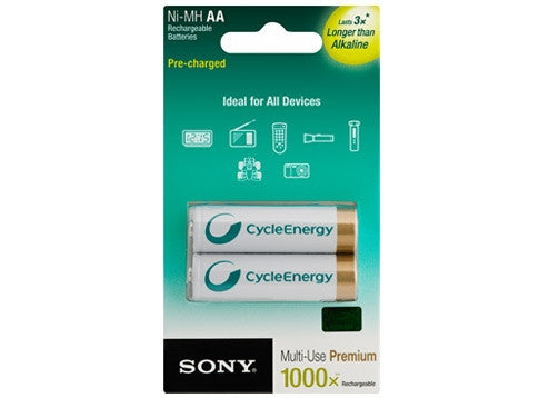 Sony NH-AA-B-KN Battery Rechargeable