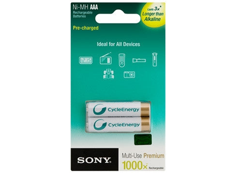 Sony NH-AAA-B-KN Battery Rechargeable