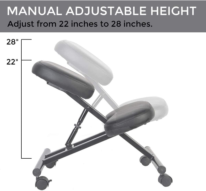 Ergonomic Kneeling Chair Stool for Home Office Work Desk Improve Your Posture