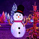 8ft Christmas Inflated Decorations Rotating Built Outdoor Yard Lawn Lighted
