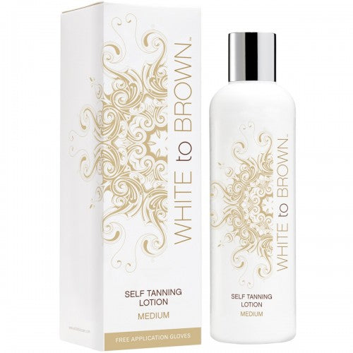 Whitetobrown Self Tanning LOTION - Medium (250 ml)