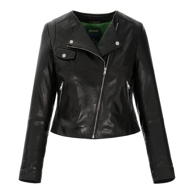 leather jacket front