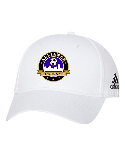 Adidas - Core Performance Max Cap Featuring a Poly Twill Patch Logo