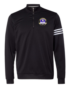 Mens Adidas ClimaLite Quarter Zip with Embroidered Logo
